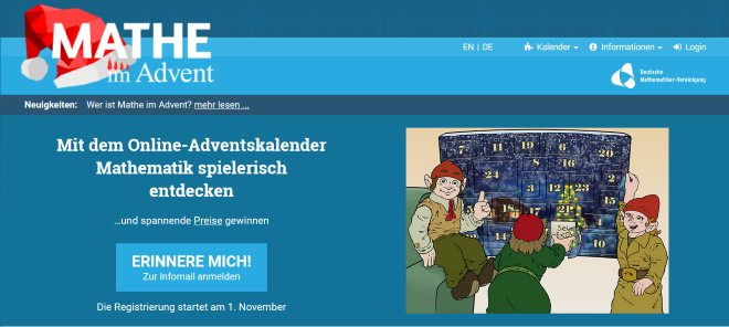 Mathe-im-Advent-Kalender